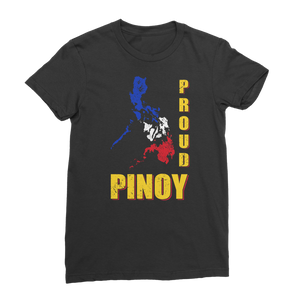 Proud Pinoy Premium Jersey Women's T-Shirt