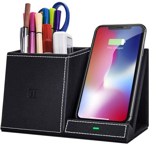 Wireless Charger Pen Holder