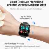 Heart rate and blood pressure exercise watch
