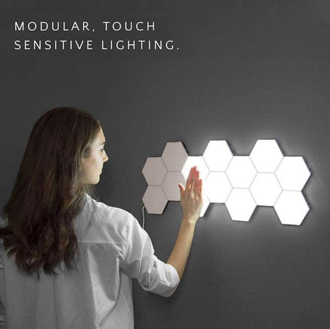 LED Touch Sensitive Hexagonal Lights