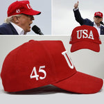 Trump Baseball Cap USA Letter Embroidery