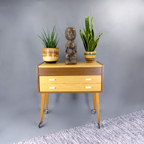 MCM SIDE Table Nightstand