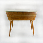 1960s Side Table intarsia Box