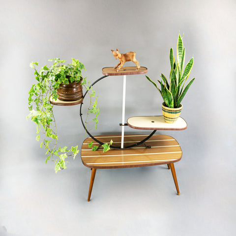 Midcentury 4 TIER PLANT STAND