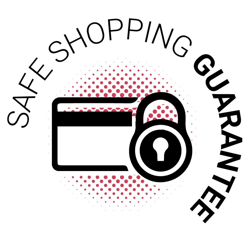 Safe shopping guarantee icon
