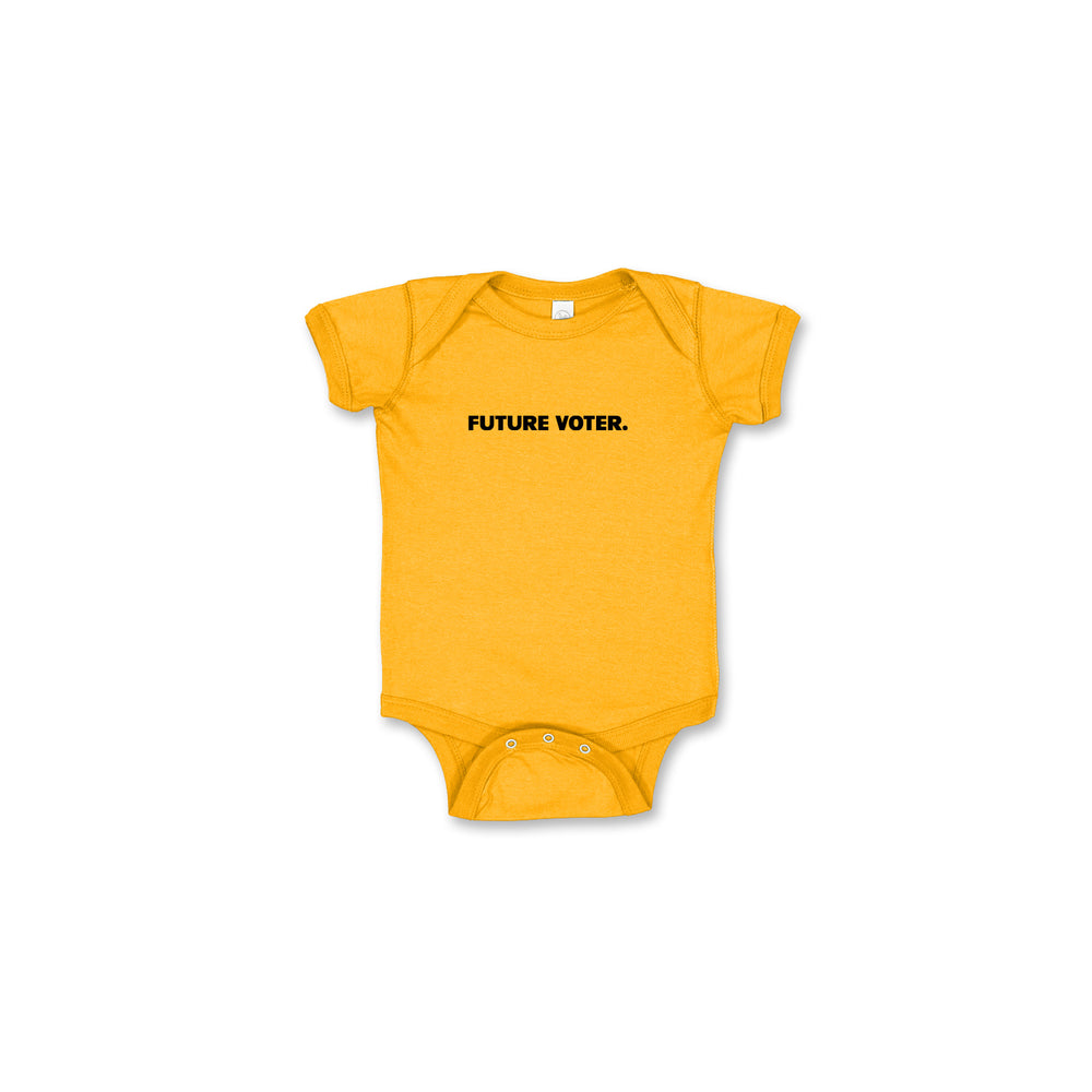Load image into Gallery viewer, Voter Hand Baby Onesie