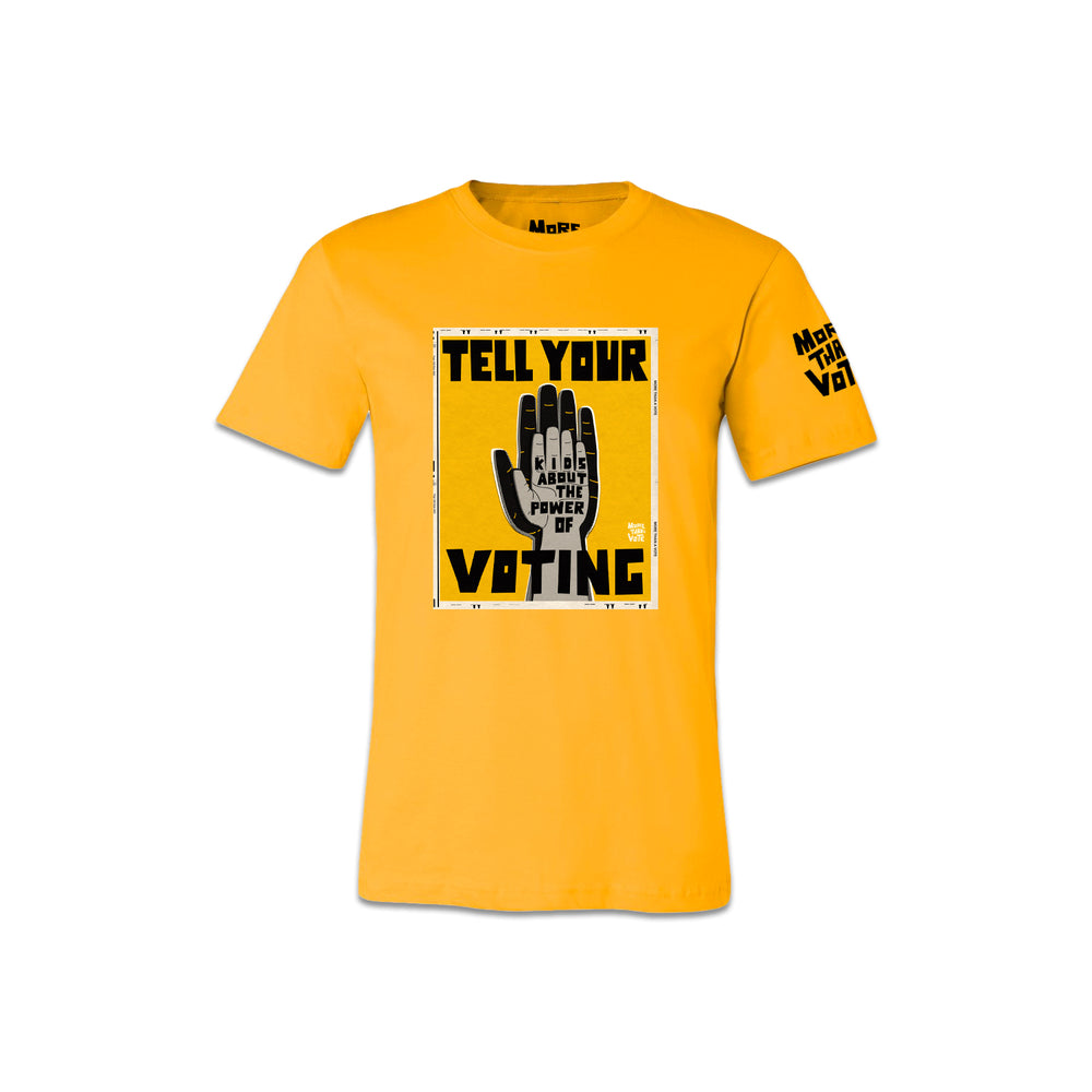 Tell Your Kids About Voting Tee