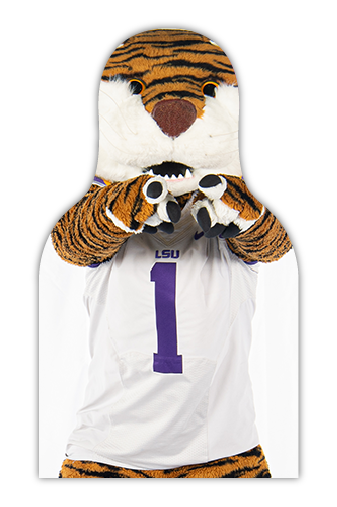 LSU Fan Cutout