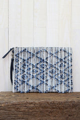 Denim Knot Clutch