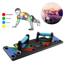 Load image into Gallery viewer, JUMPFIT™ - 9 in 1 Push Up Rack - GadgetBlender