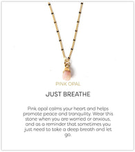 Load image into Gallery viewer, Bella Necklace-Rose Quartz