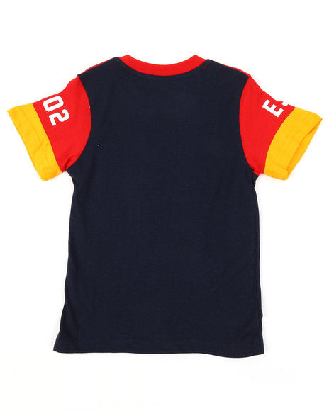 Born Fly Pieced ColorBlock Tee - FLY GUYZ