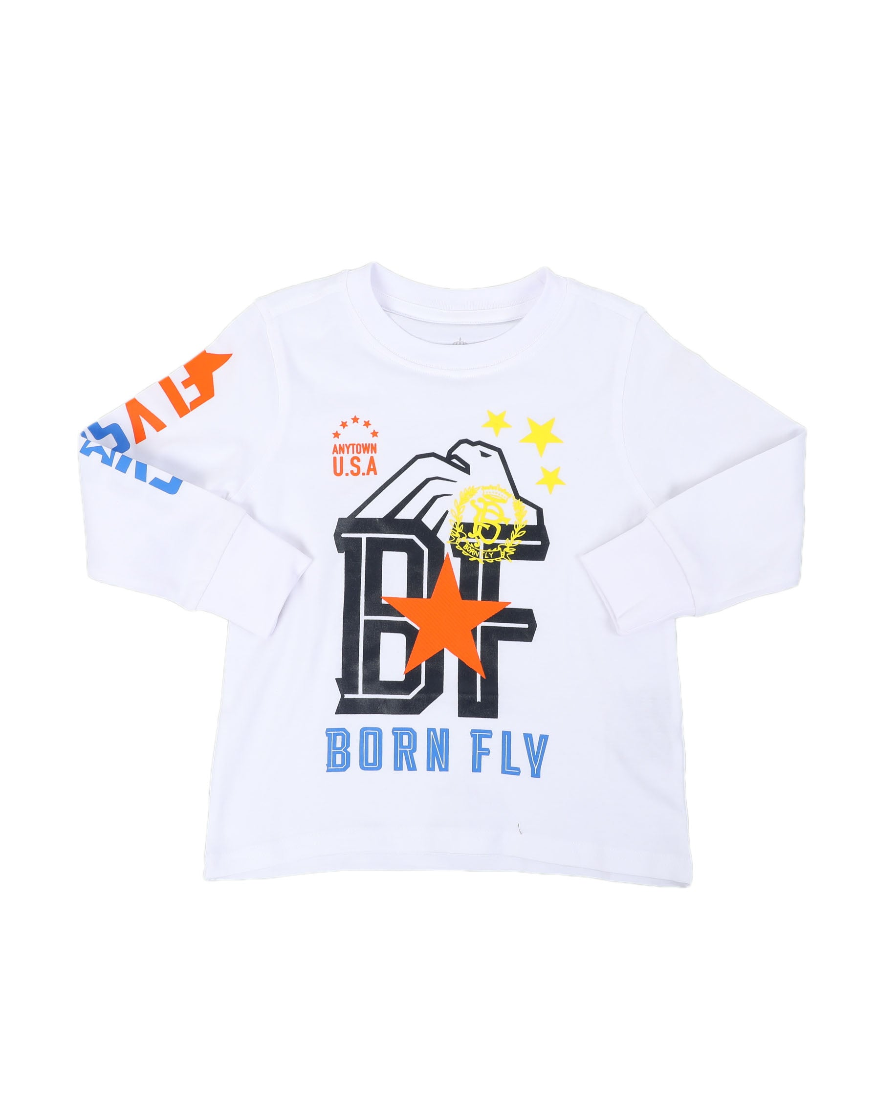 "Born Fly ""fly star"" L-S Graphic Tee - FLY GUYZ"
