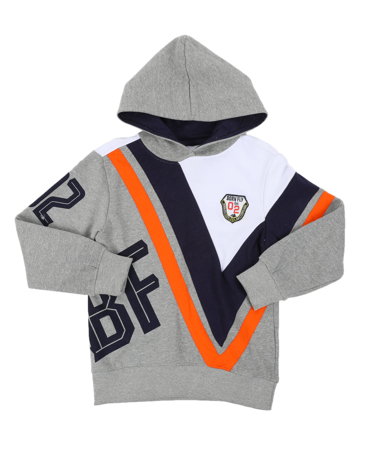 Born Fly Colorblock Pop-Over Hoodie - FLY GUYZ