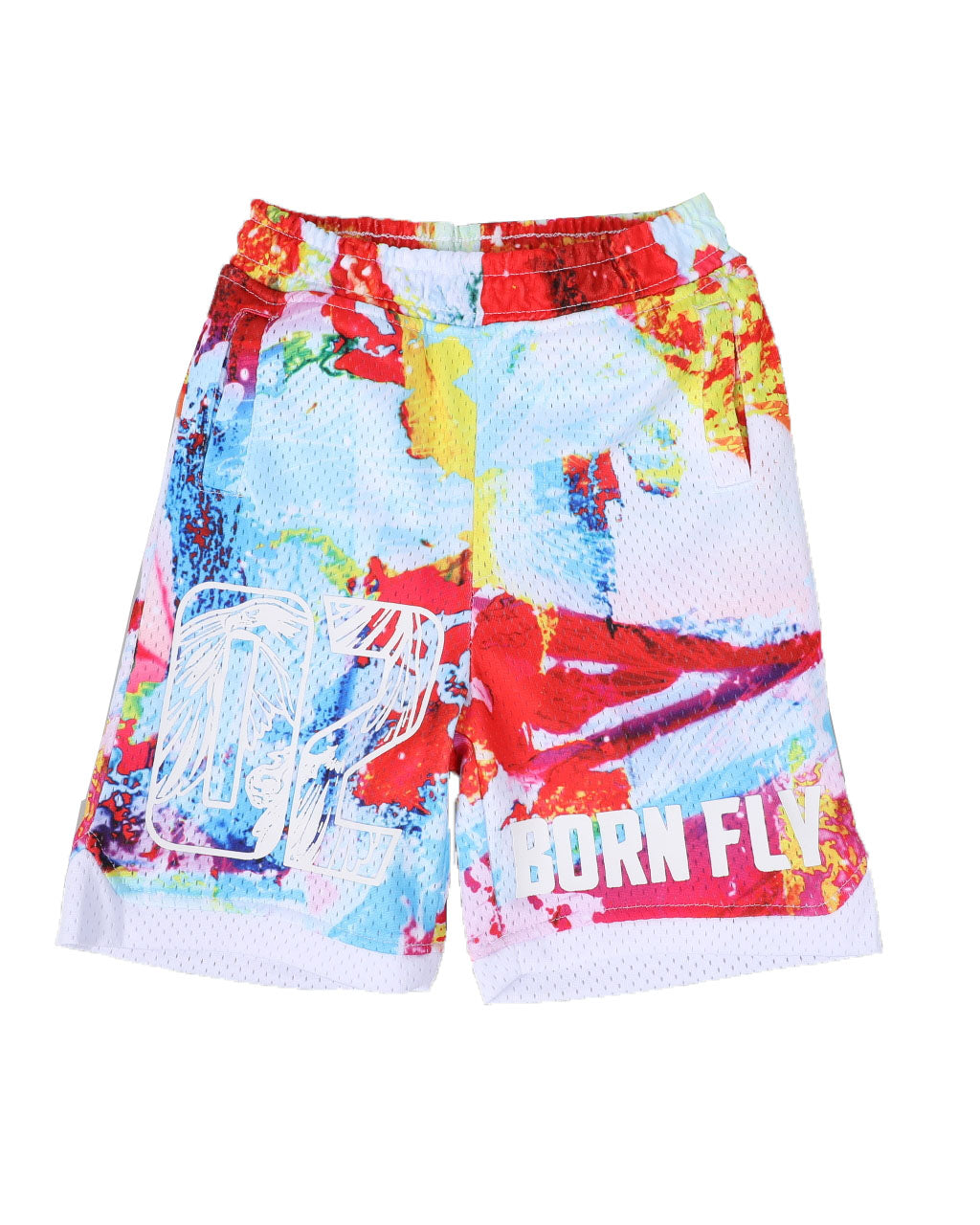 Tropical Poly Mesh Shorts - FLY GUYZ