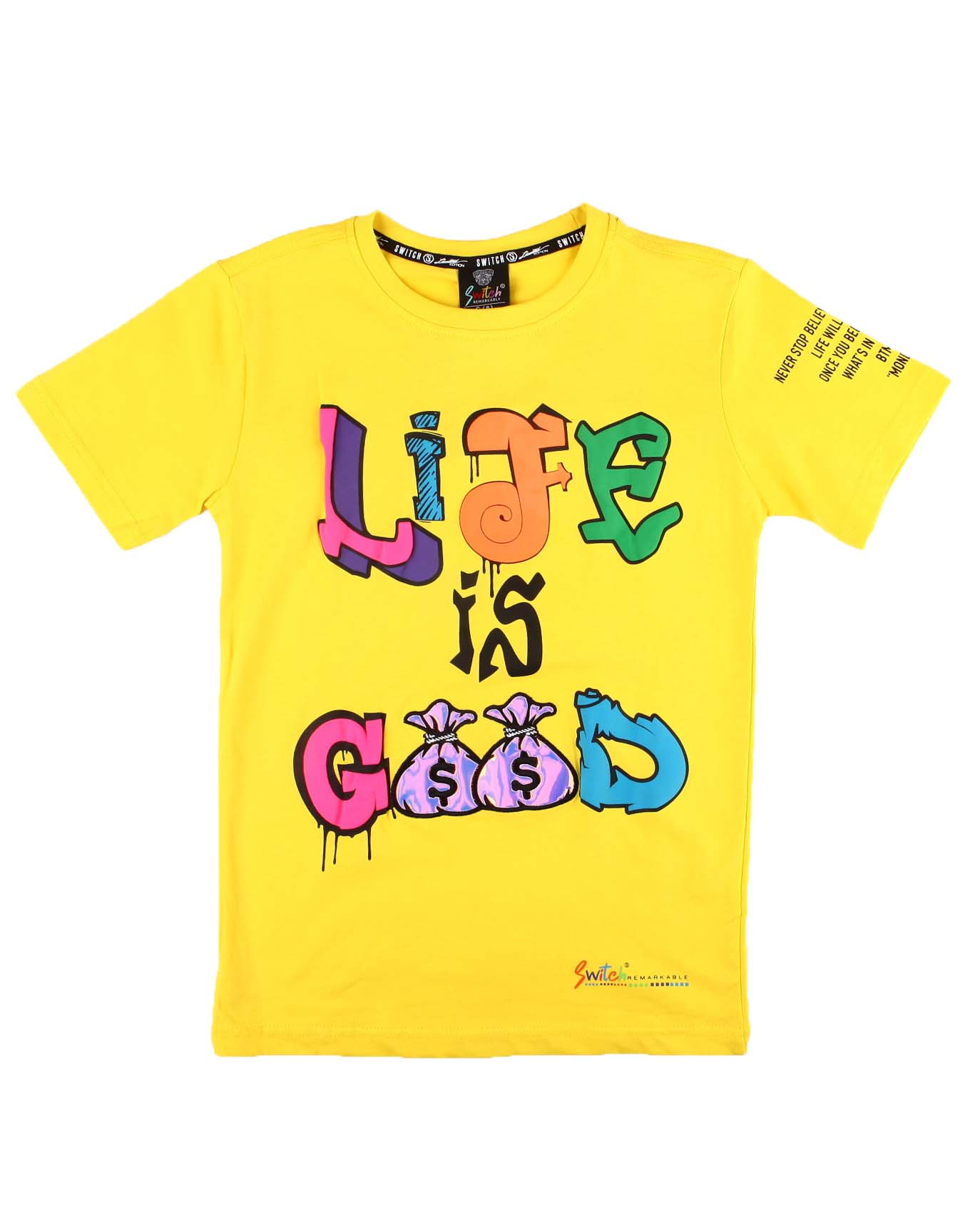 Life is Good Graphic Tee - FLY GUYZ
