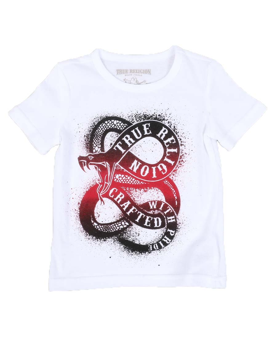 Snake Stamp Graphic Tee - FLY GUYZ