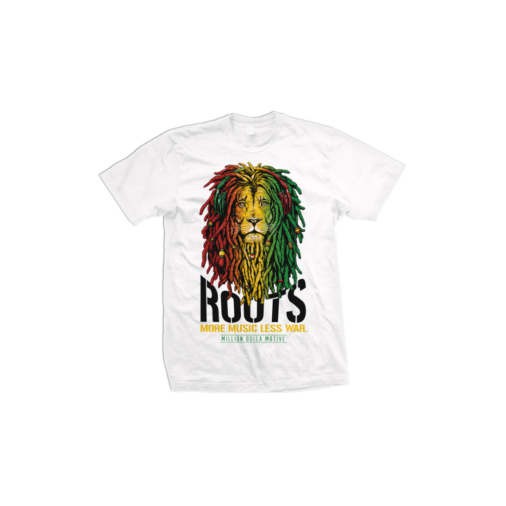 Roots Lion Graphic Tee - FLY GUYZ