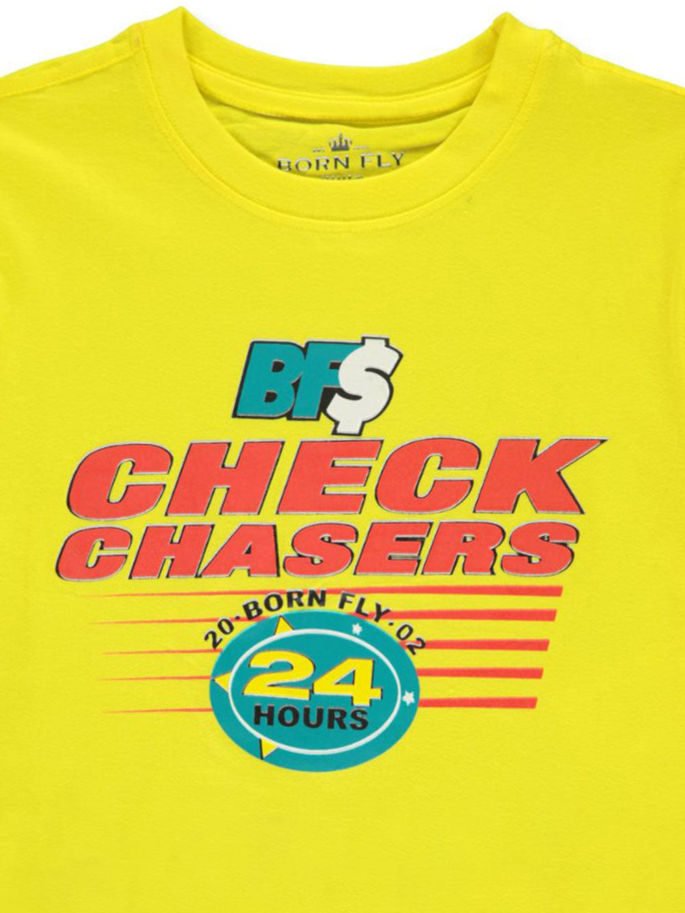 Born Fly Check Chasers Tee - FLY GUYZ