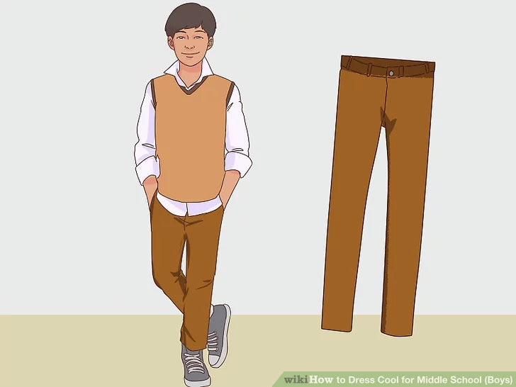 Image titled Dress Cool for Middle School (Boys) Step 14
