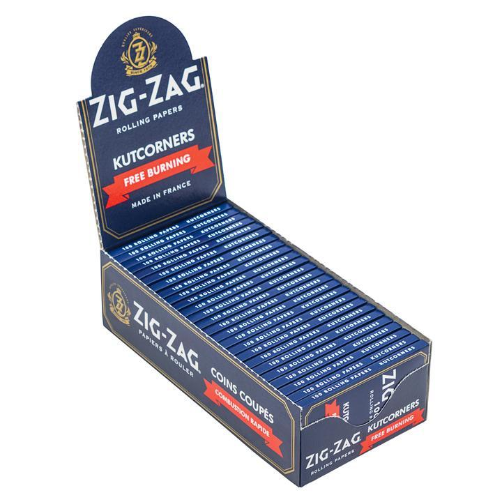 Zig Zag Blue Papers - Big Dog Distribution Ltd.
