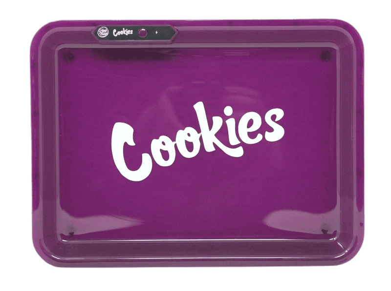 Cookies Sound Control LED Glowing Rolling Tray - Purple
