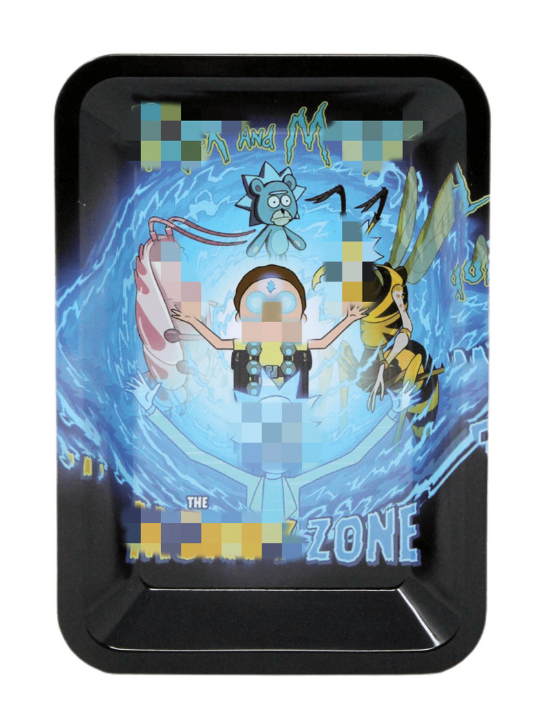 Ric&Moty Metal Rolling Tray - Design 3