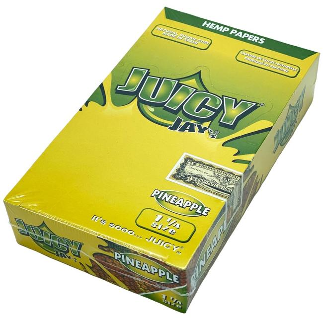 Juicy Jay's 1 1/4 Rolling Papers - 24 Pack/Box