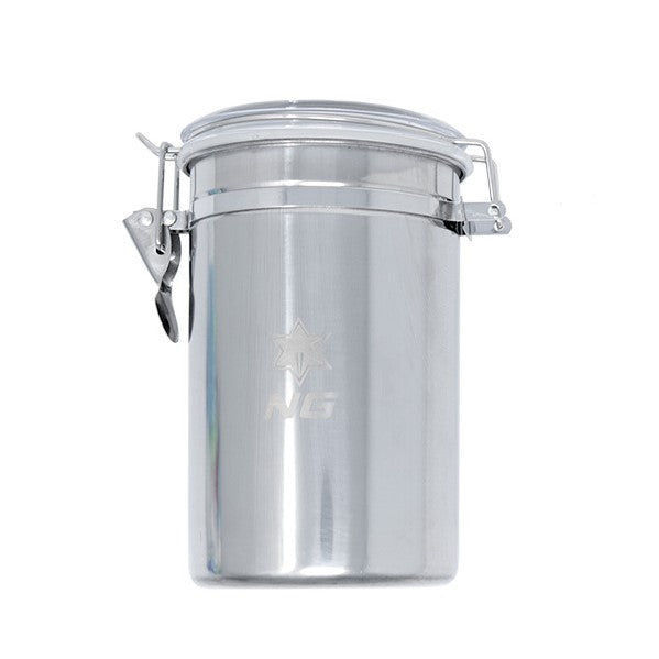 NICE GLASS Stainless Metal Canister - Tall