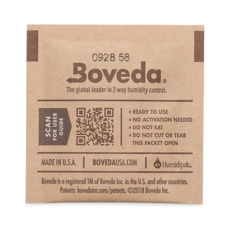 Boveda 4 Gram 62% Humidity Control (NOT WRAPPED) - 10 Pack
