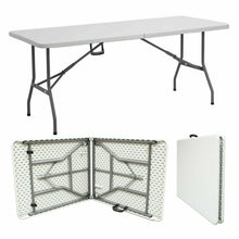 Charger l'image dans la galerie, 4FT 5FT & 6FT CAMPING CATERING HEAVY DUTY FOLDING TABLE TRESTLE PICNIC BBQ PARTY - Bestime2shop