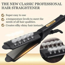 Charger l'image dans la galerie, Four Gear Ceramic Tourmaline Ionic Flat Iron Hot Hair Straightener Glider US New - Bestime2shop