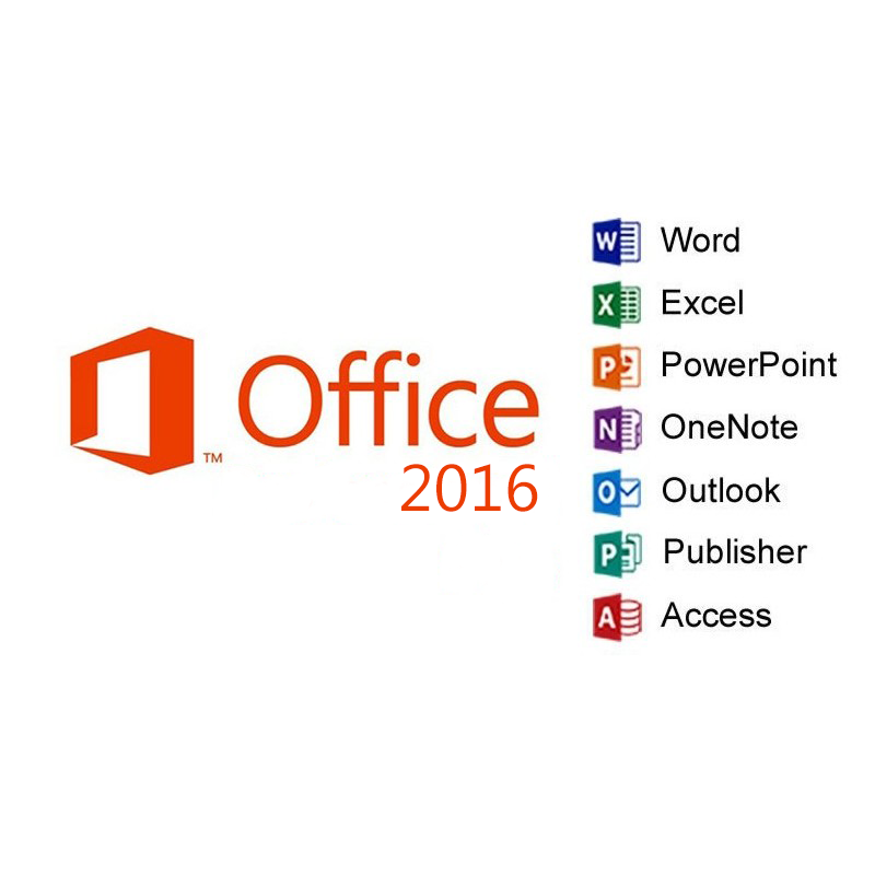 Microsoft Office MS Office 2016 Professional Plus - Bestime2shop