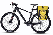Charger l'image dans la galerie, ROCKBROS Cycling Bicycle Travel Rear Seat Carrier Waterproof Pannier Bag Yellow - Bestime2shop