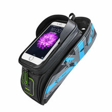 Charger l'image dans la galerie, RockBros Bicycle Frame Bag Tube Bag Waterproof Touch Screen Phone Bag - Bestime2shop