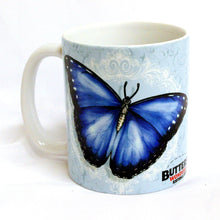 Load image into Gallery viewer, Blue Morpho Butterfly Mug