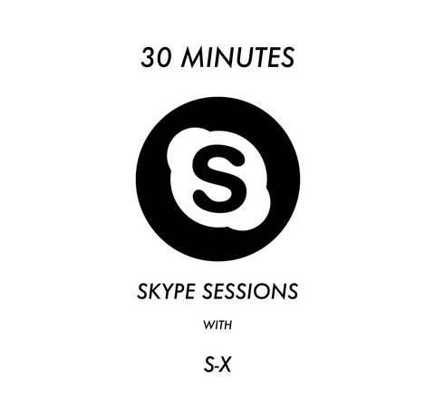 30 Minute Skype Session with S-X.