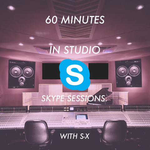 60 Minute Skype Session with S-X.
