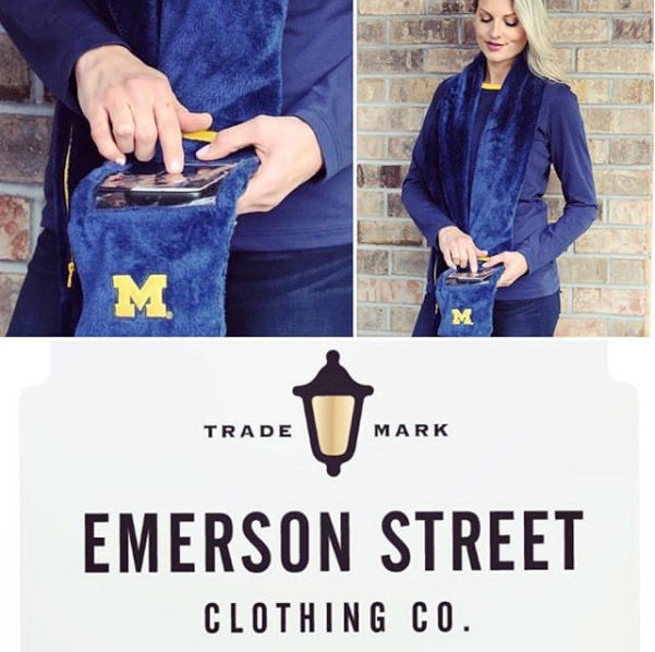Emerson Street Clothing phone scarf