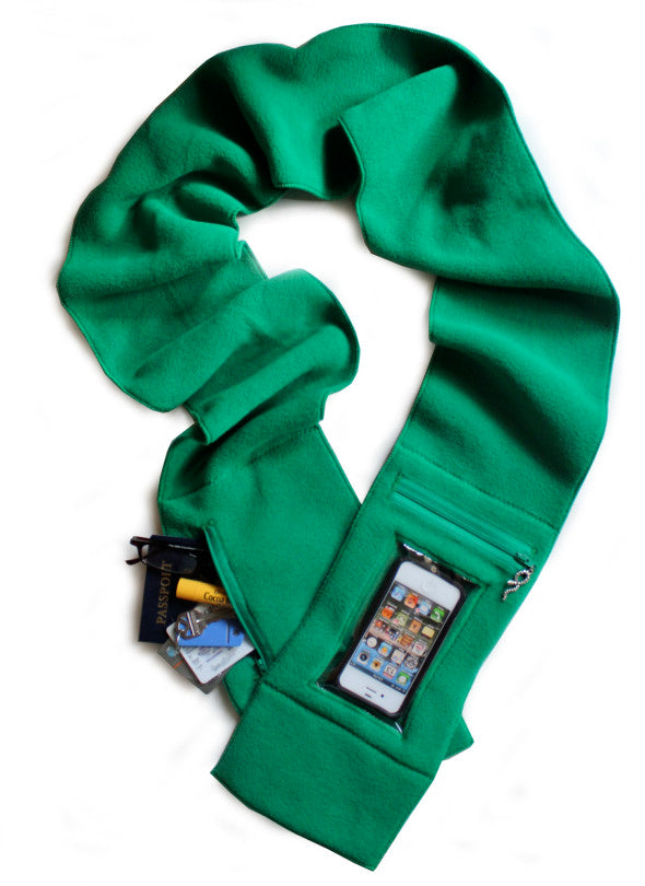 iphone scarf for traveling, winter trends 2014