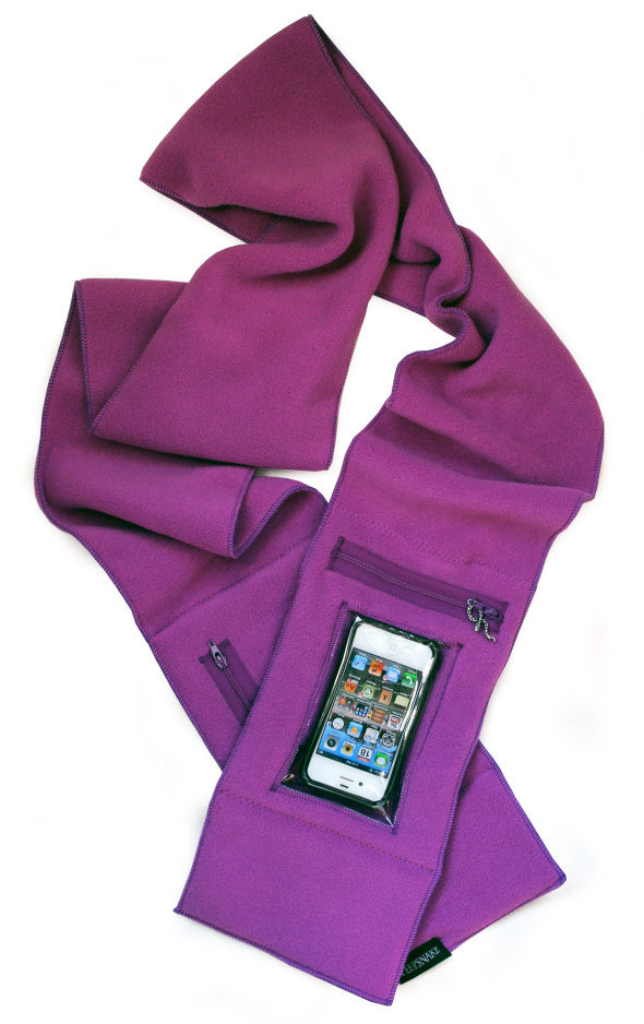 Purple iPhone Scarf
