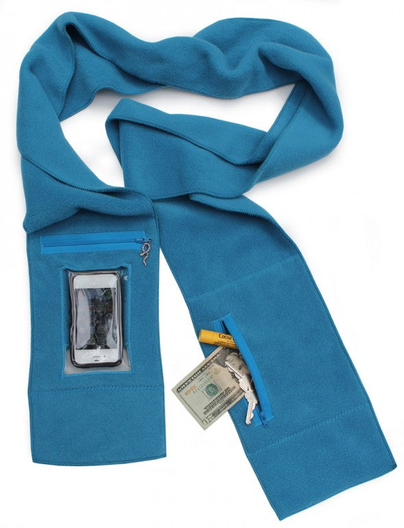 Blue iPhone Scarf