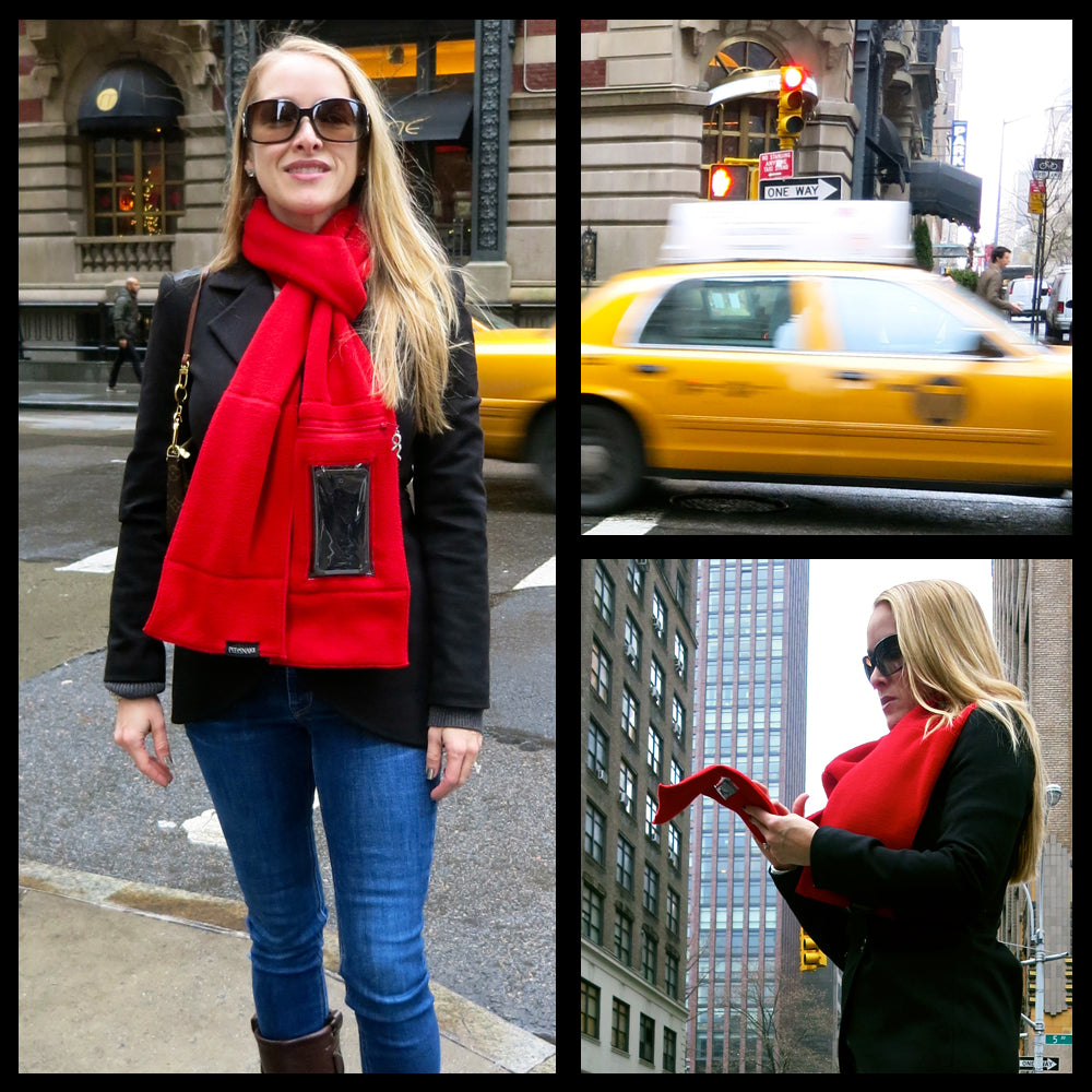 iphone scarf for shopping and traveling