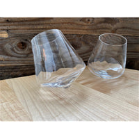 Pair of Optic Twist 12oz Revolving Glass