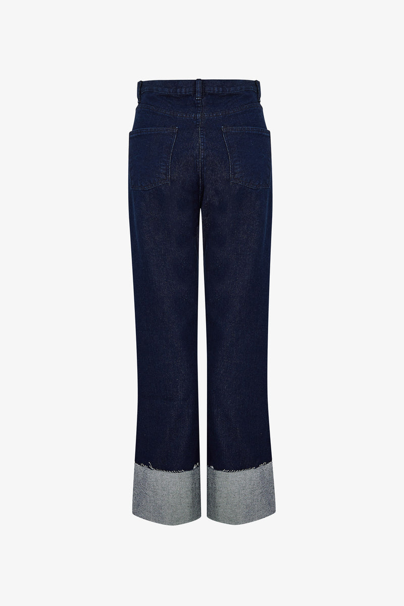 JEANS HIGH RISE MINIMAL