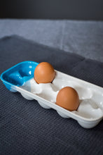 Load image into Gallery viewer, Porcelain ombre egg tray - ZLATNAporcelain
