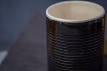 Load image into Gallery viewer, Porcelain big mug - Black & white - ZLATNAporcelain