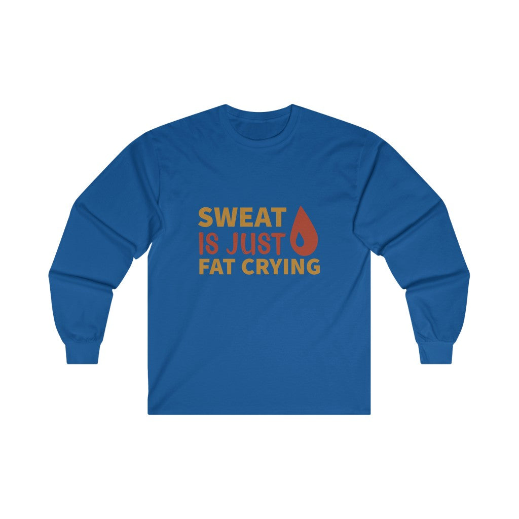 Fat Crying Long Sleeve Tee