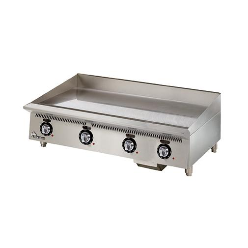 "Star 848TA Natural Gas 48"" Countertop Griddle"