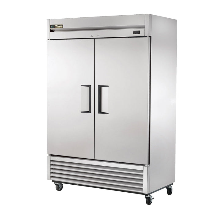 "True T-49-HC 54"" 2-Section Solid-Door Reach-In Refrigerator"